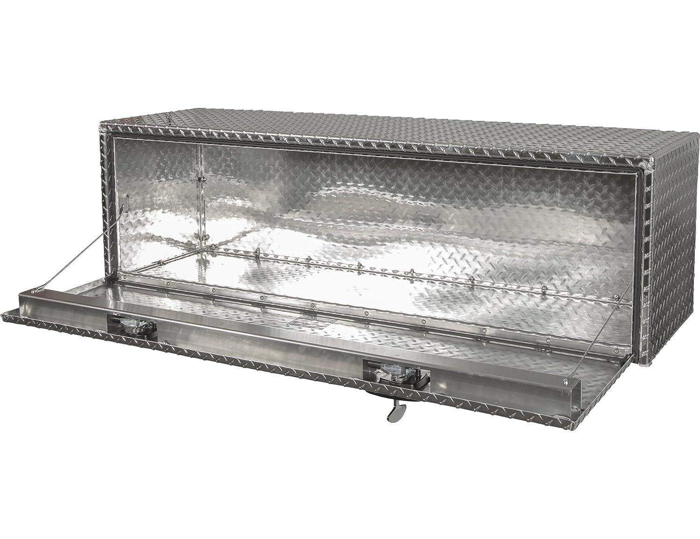 Buyers Products Diamond Tread Aluminum Underbody Truck Box w// T-Handle Latch 1705130 24x24x24 Inch