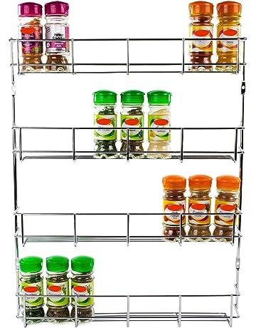 Amazon Co Uk Spice Racks Home Kitchen