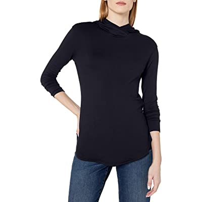 Brand - Daily Ritual Women's Supersoft Terry Long-Sleeve Hooded Pullover: Clothing
