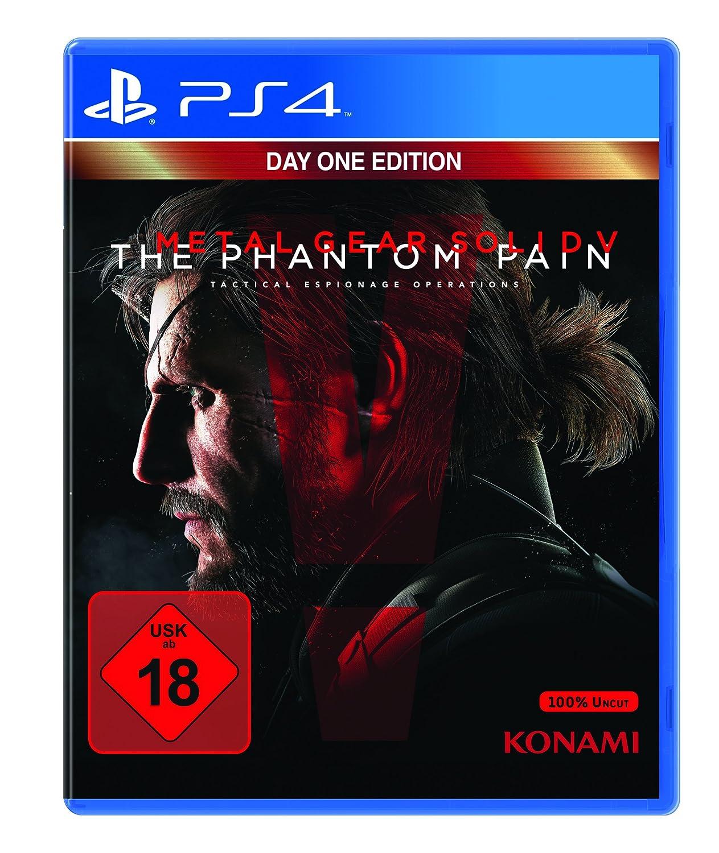 Metal Gear Solid V PS4 amazon