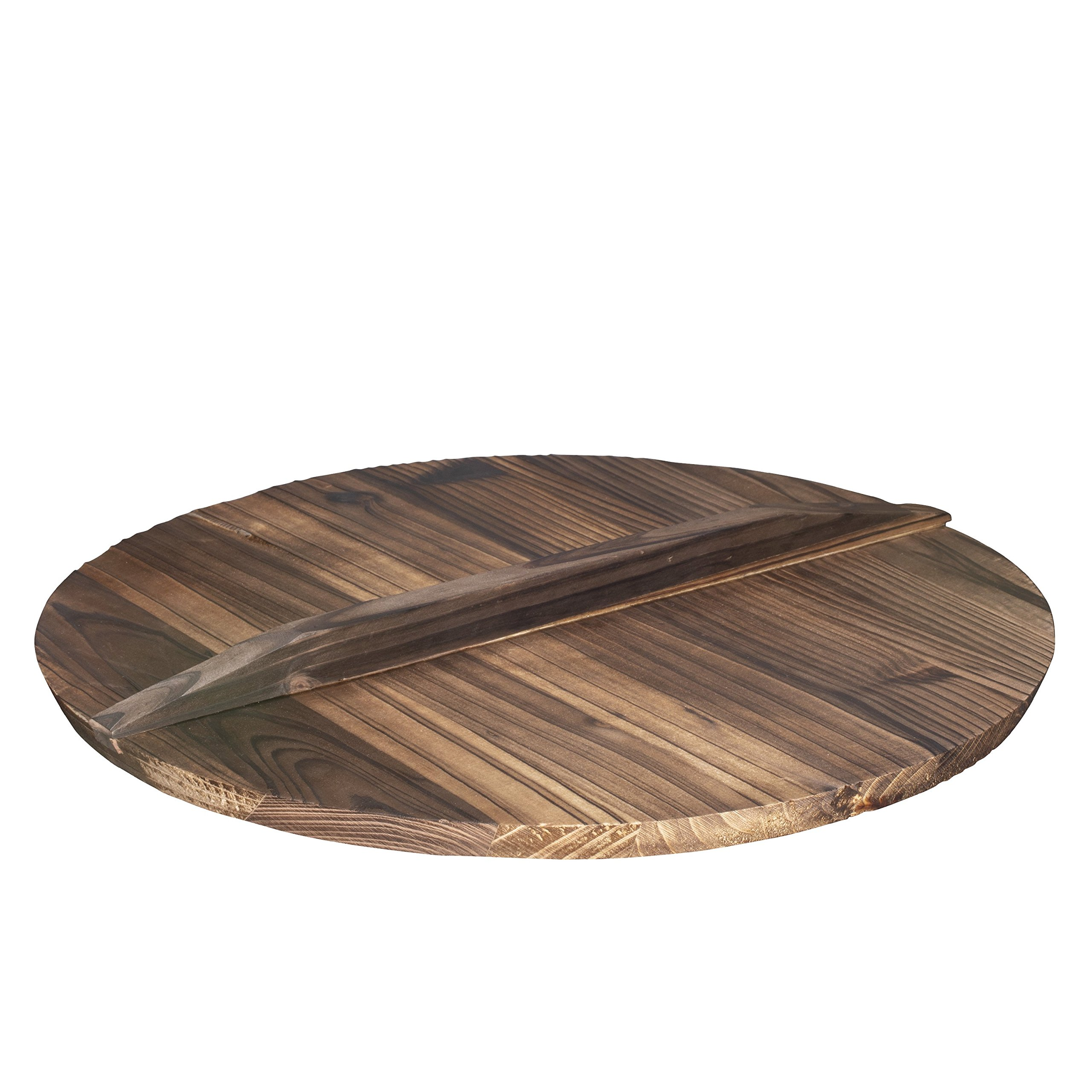 Wooden Lid for 14'' Cast Iron Wok
