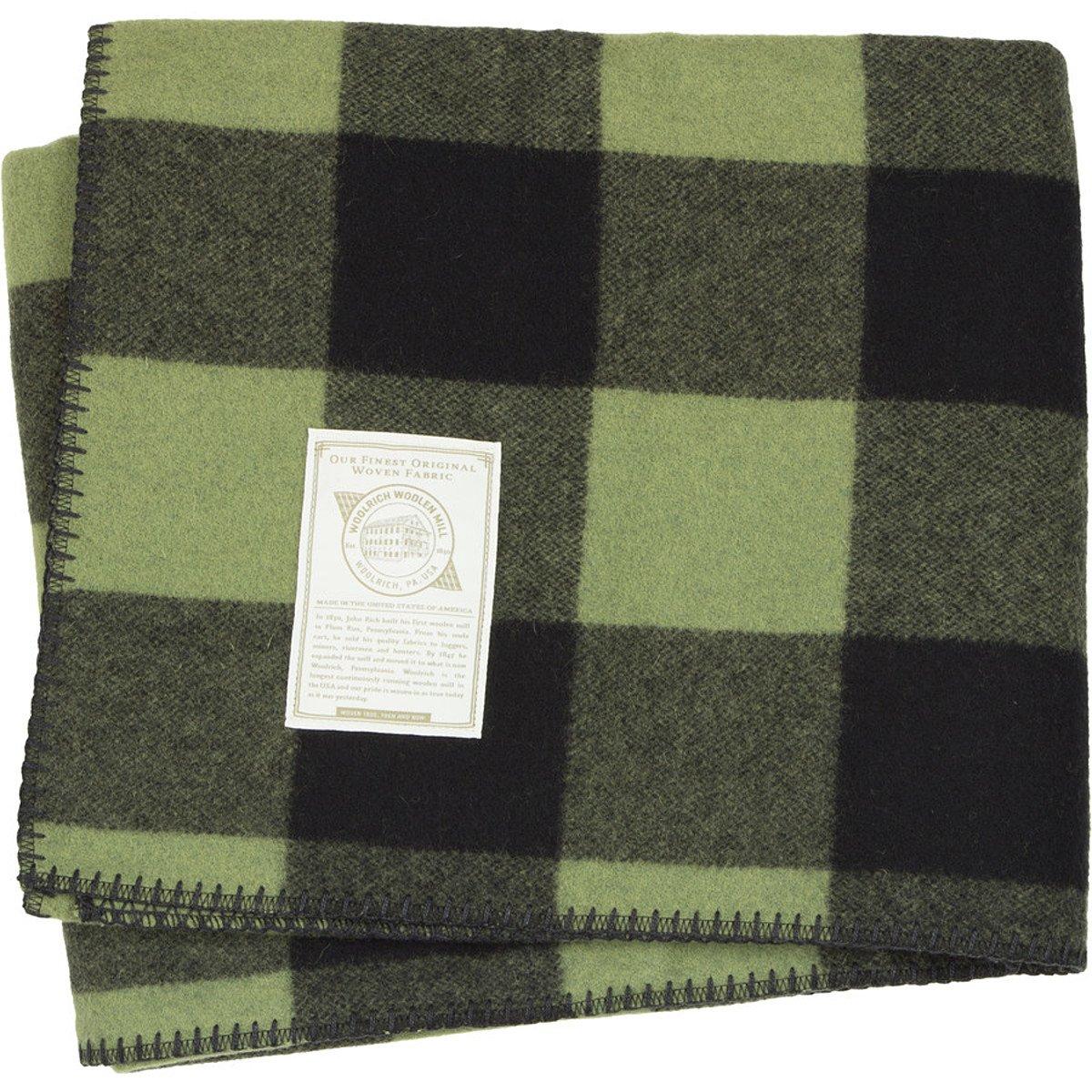 amazoncom woolrich home  rough rider blanket red  - amazoncom woolrich home  rough rider blanket red woolrich home kitchen