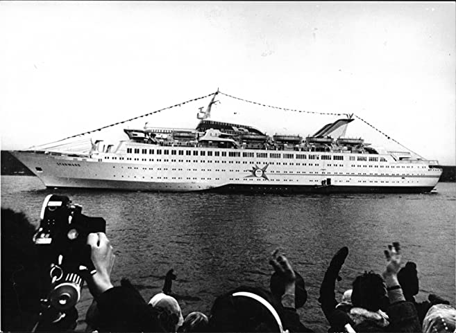 Vintage Photo Of MS Star Ward On A Visit In Oslo Before She Is Put - Starward cruise ship