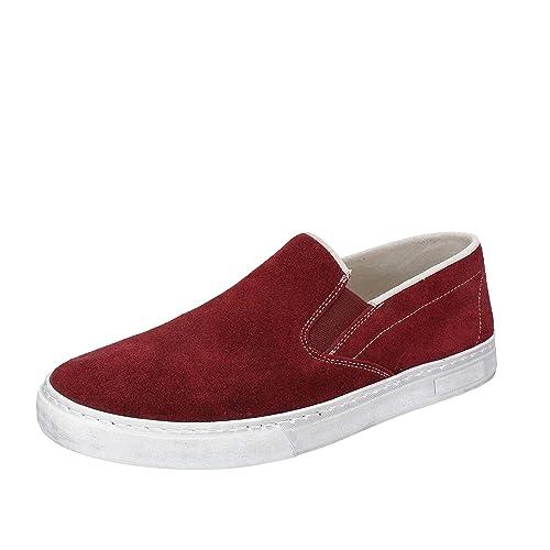 NYON by KORAF Mocasines de ante para hombre Morado Size: 41: Amazon.es: Zapatos y complementos