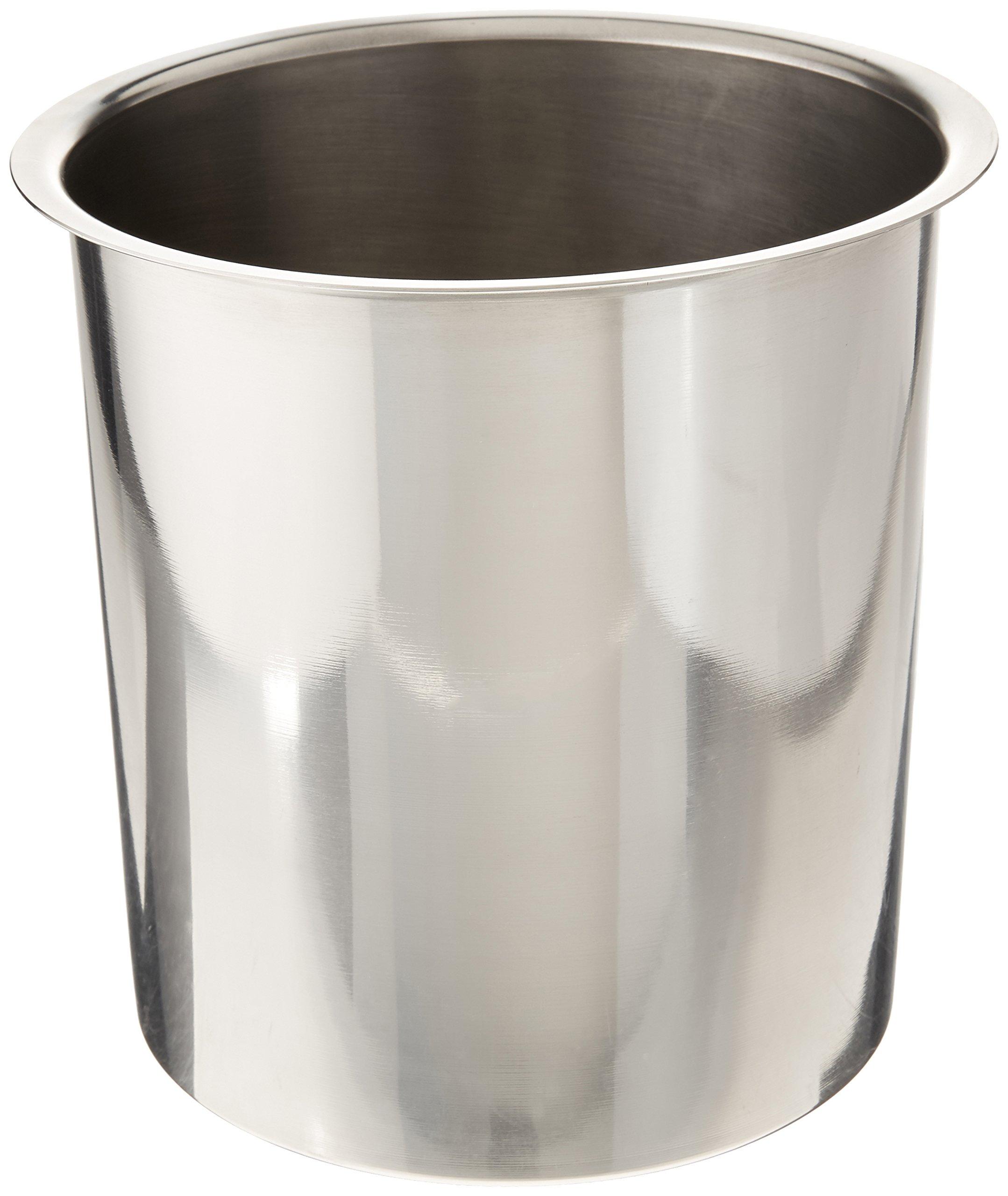 "Bain Marie Pot Size: 7.13"" H x 7.13"" W x 7.13"" D"