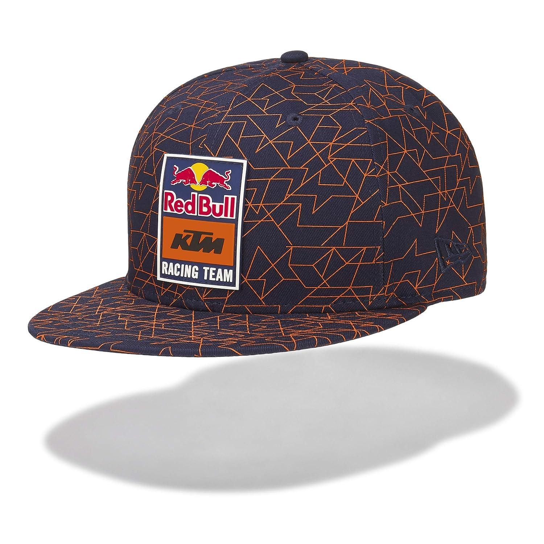 Amazon.com: Red Bull KTM New Era 9Fifty Mosaic Hat, azul ...