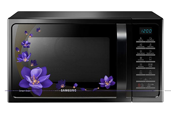 Samsung 28 L Convection Microwave Oven (MC28H5025VC/TL, Black)