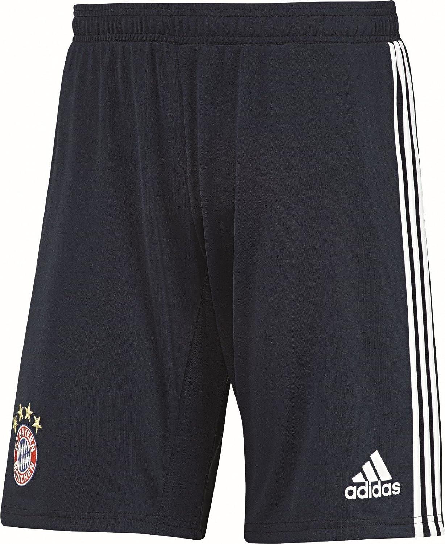 2017-2018 Bayern Munich Adidas Training Shorts (Navy) B0716ZNZDD Small 32