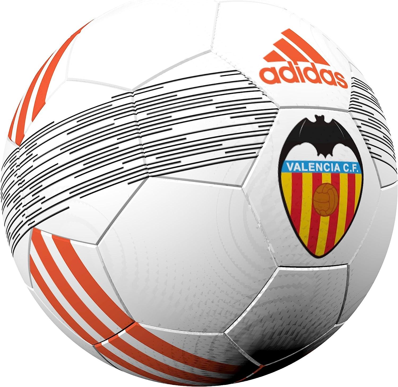 adidas Valencia Ball Balón de Fútbol, Unisex Adulto, Blanco ...