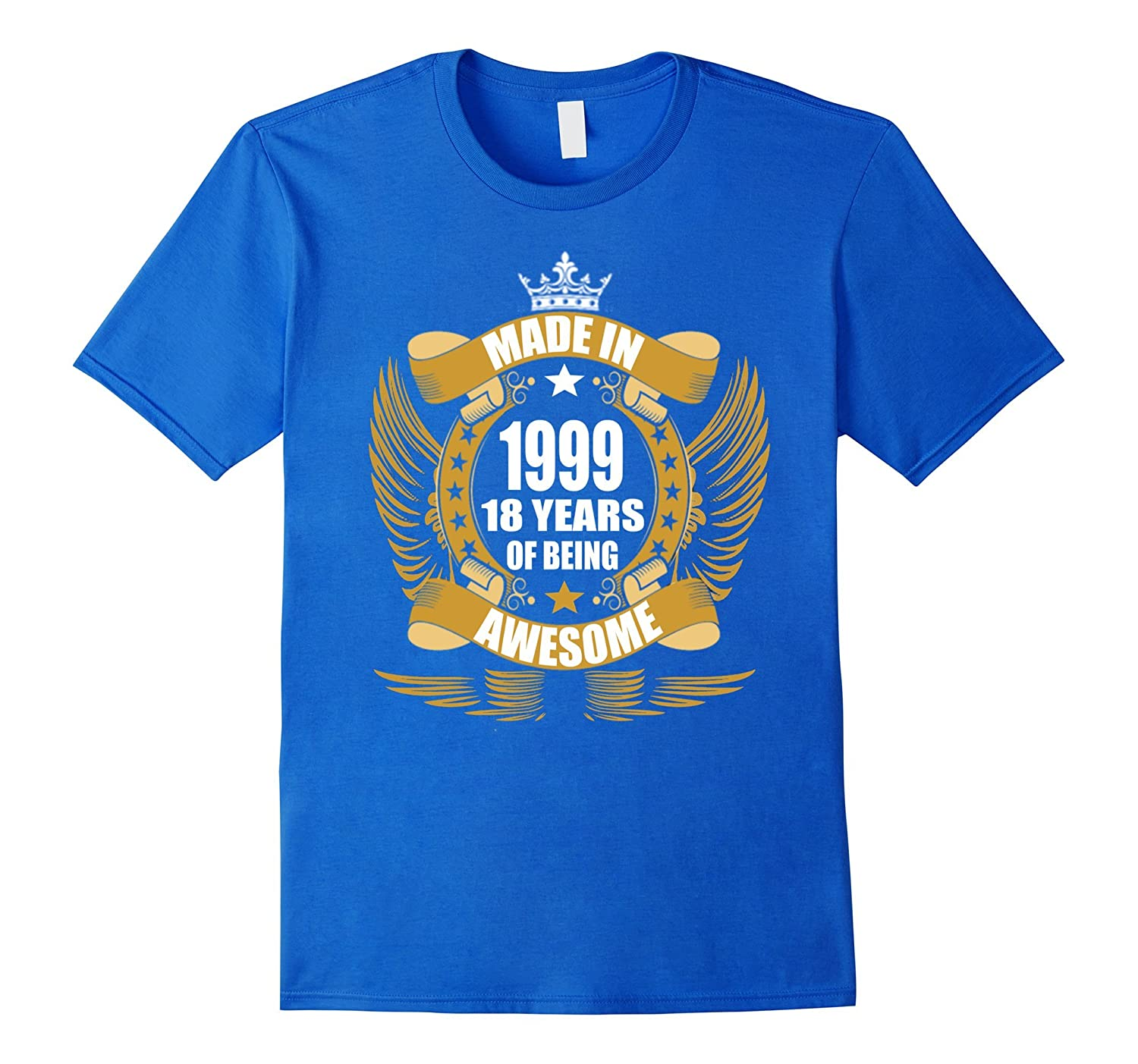 18th Birthday Gift Idea 18 Year Old Boy Girl Shirt 1999 PL