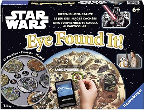 Star Wars - Eye Found it!, Juego de Mesa (Ravensburger 21229 ...