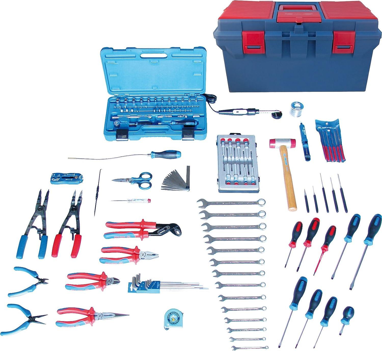king tony 415147elec Electricista y Electro mecánico Caja de Herramientas, Conjunto de 147: Amazon.es: Coche y moto