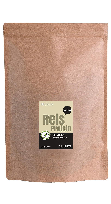 wohltuer bio reisprotein | sin gluten, libre de colesterol ...