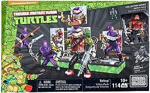 Mega Construx Teenage Mutant Ninja Turtles Collectors Bebop Villain Pack