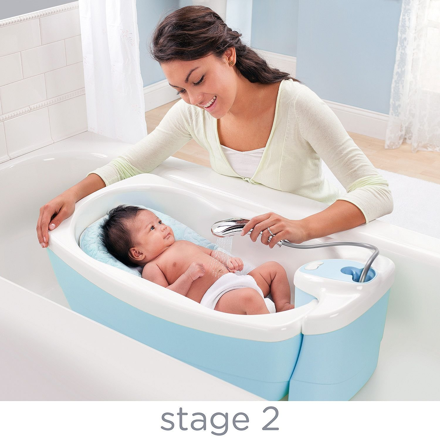 Amazon.com : Summer Infant Lil\' Luxuries Whirlpool, Bubbling Spa ...