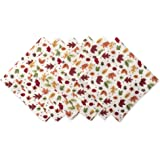 """DII Oversized Napkin For Fall Holidays, Buffets, Parties, Special Occasions or Everyday Use (Set of 6), 20 x 20"""""""