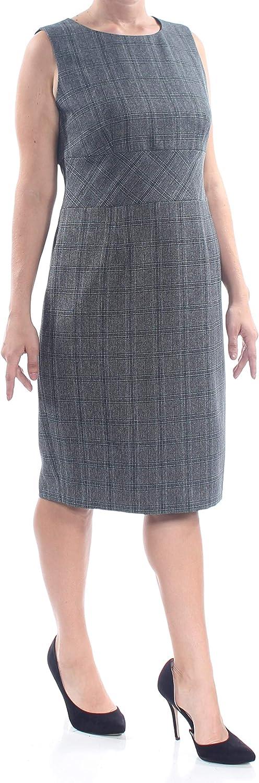 Kasper Women's Plaid Dress Ranking TOP2 Sheath Gifts