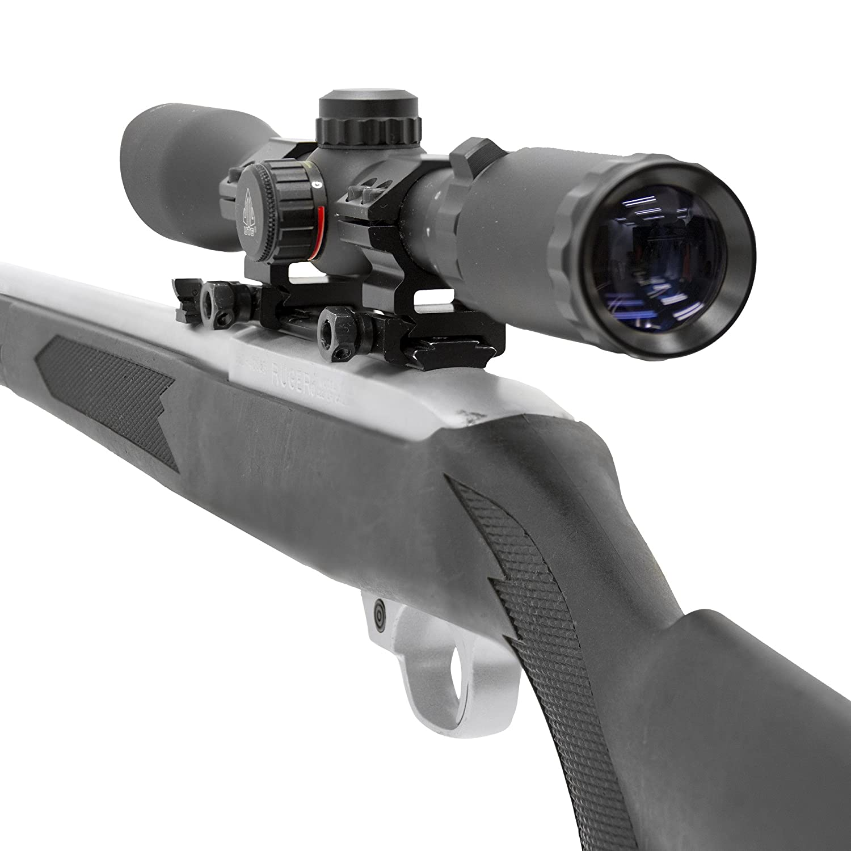 UTG 3-9X32 1 Hunter Scope, Mil-dot, w Rings, Adj 100 Yds
