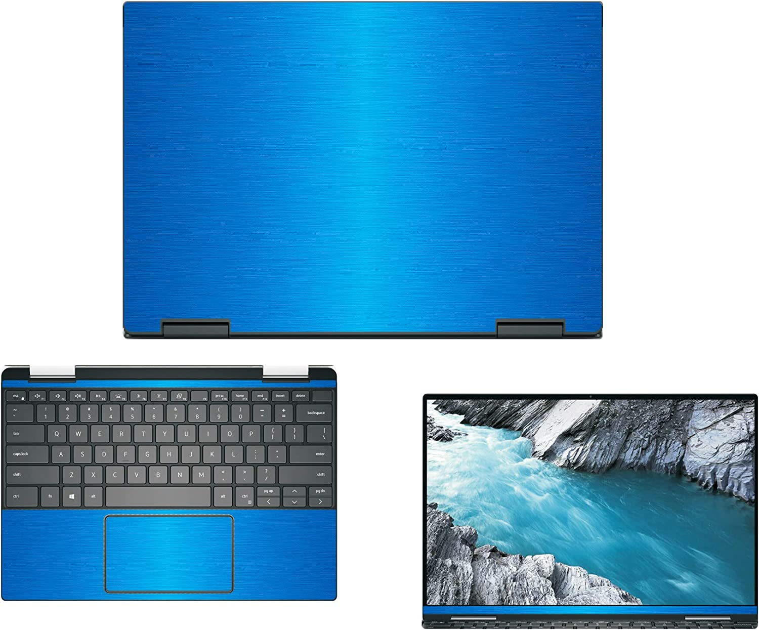 Decalrus - Protective Decal for Dell XPS 13 7390 2-in-1 (13.3