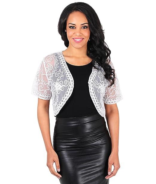 Amazon.com: KRISP para mujer Vintage de malla de Fiesta ...
