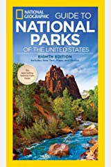 National Geographic Guide to The National Parks The USA 8th Edition Paperback