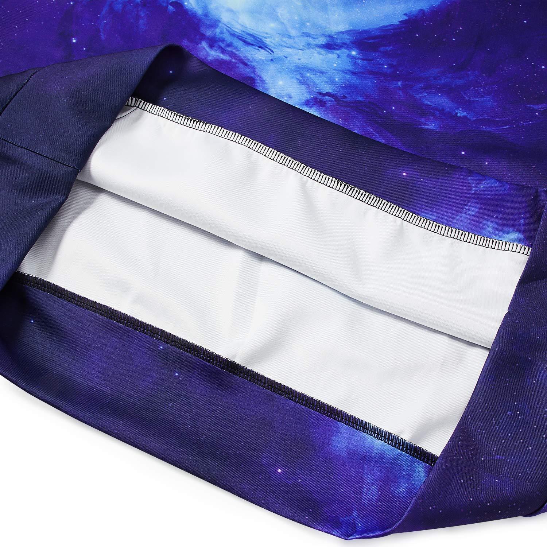 TUONROAD Unisex Katze Regenbogen Hoodie Digitaldruck Kapuzenpullover Pullover Sweatshirt MäNner Gedruckt Hoodie Grafik Langarm Sweatshirt