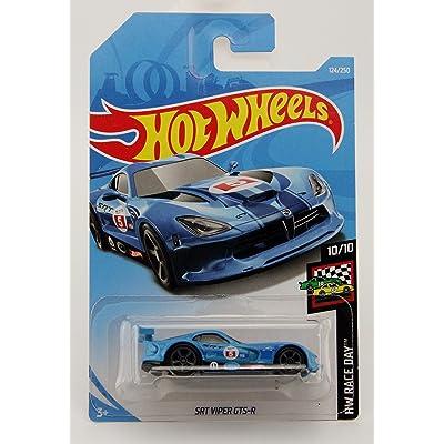 Hot Wheels 2020 Hw Race Day 10/10 - SRT Viper GTS-R (Blue): Toys & Games