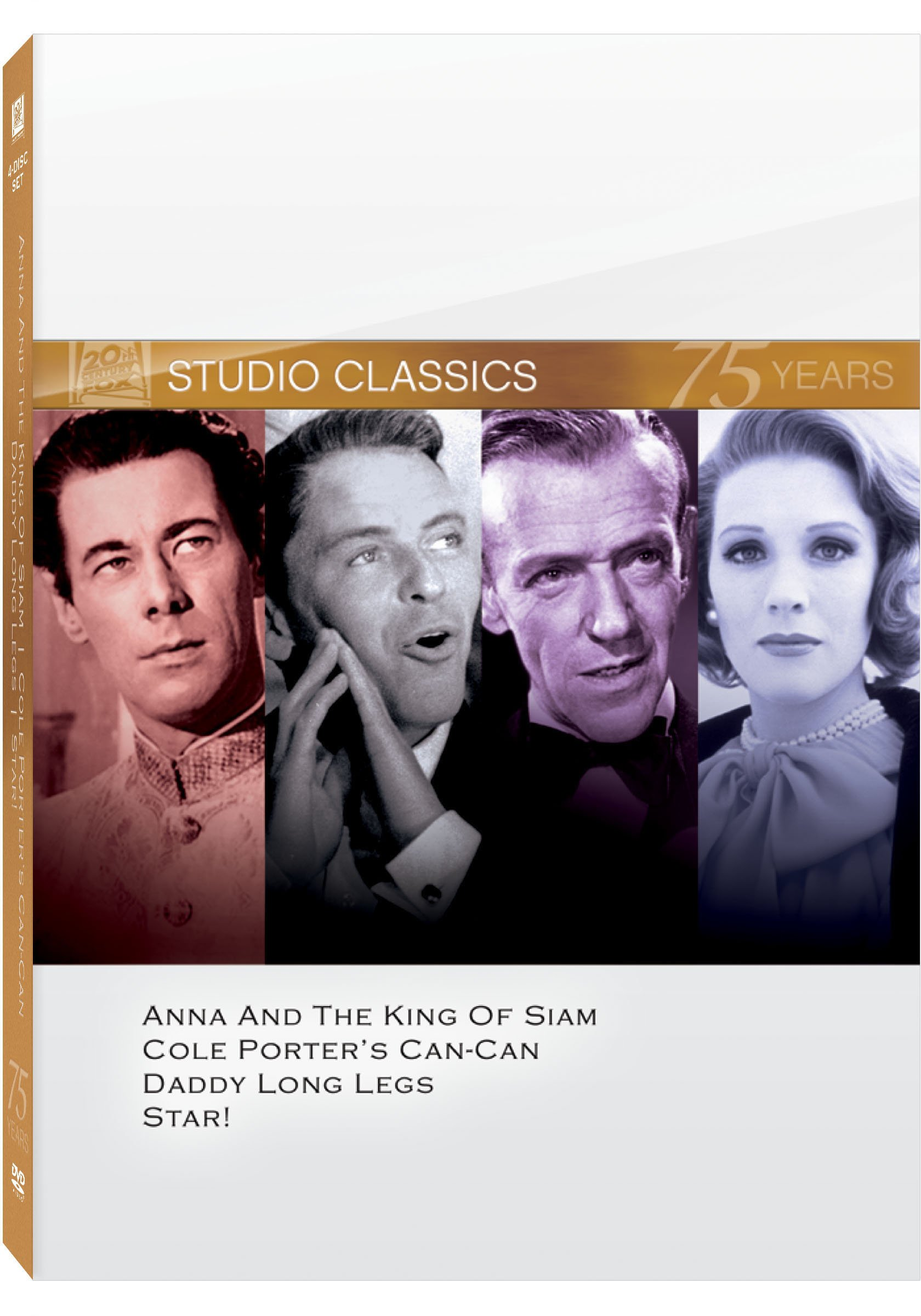 Classic Quad Set 1 (Anna and the King of Siam / Can-Can / Daddy Long Legs / Star!)