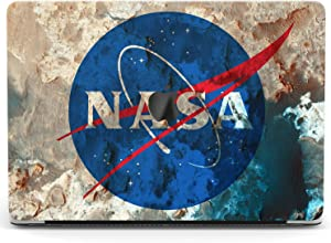 Wonder Wild Case For MacBook Air 13 inch Pro 15 2019 2018 Retina 12 11 Apple Hard Mac Protective Cover Touch Bar 2017 2016 2020 Plastic Laptop Print NASA Theme Cute Science Space Blue Pattern Abstract