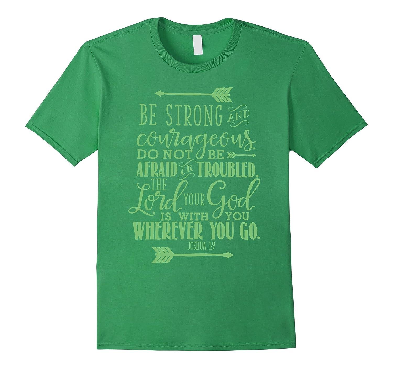 Bible Verse T-Shirt Quote - JOSHUA 19 Green-TH