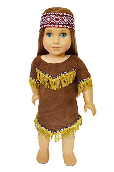 native american halloween costume for american girl dolls - Halloween Native American Costumes