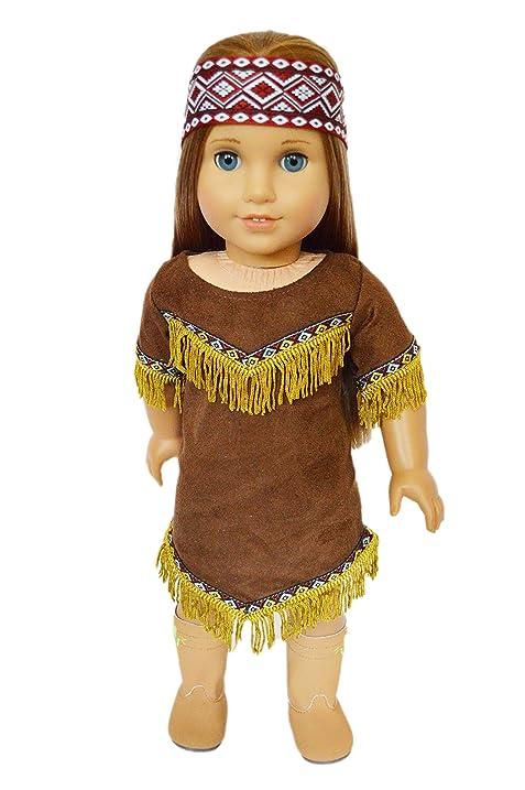 native american halloween costume for american girl dolls
