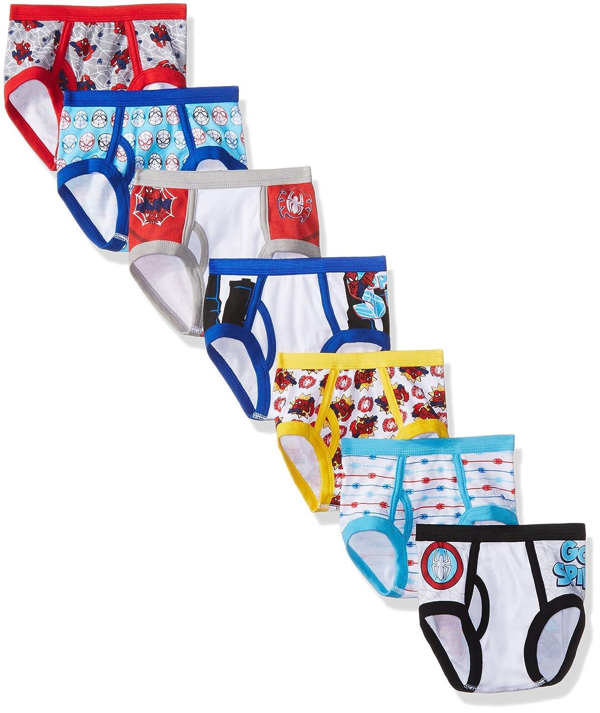 Marvel Toddler Boys' Spiderman 7pk Underwear TBUP5220