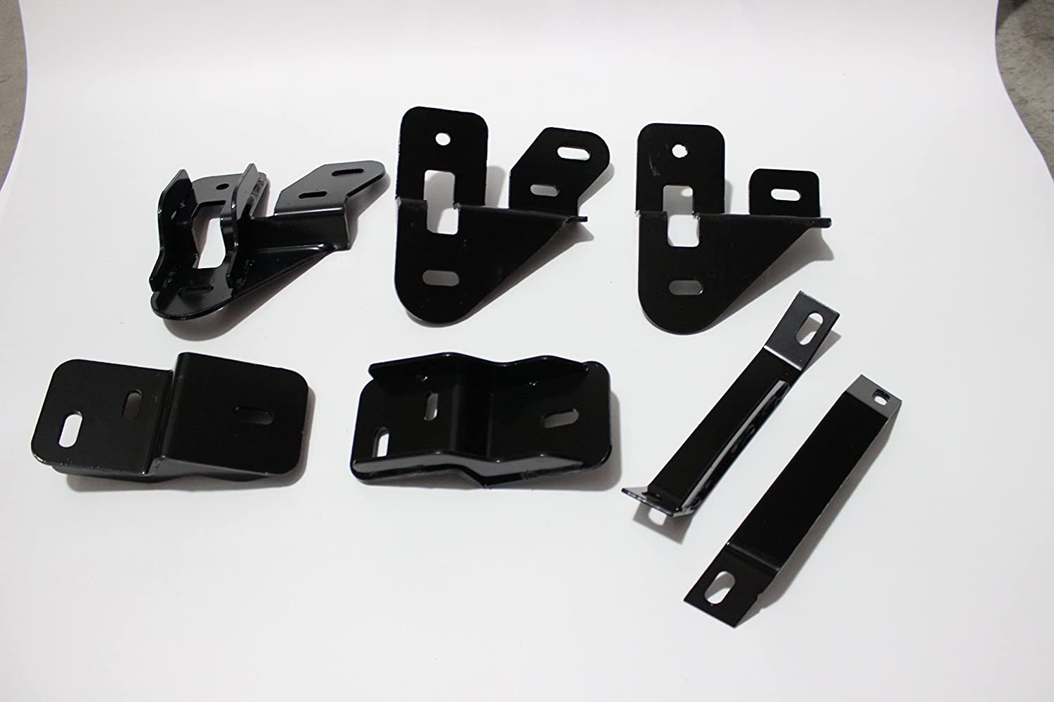 Mifeier 3 Black Nerf Bars Running Boards Fit 09-18 Dodge Ram 1500 Crew Cab with 4 Full Size Doors
