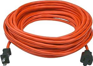 Prime EC481630 50-Foot 16/2 SJTW Lawn and Garden Outdoor Extension Cord, Orange
