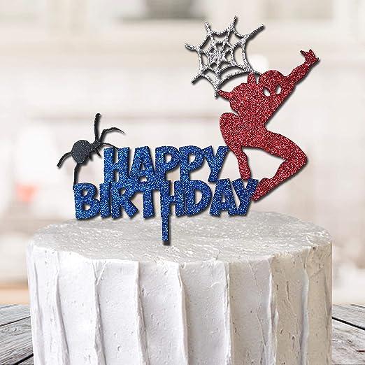 Decoración para tarta de Spiderman Marvel Super Hero con ...