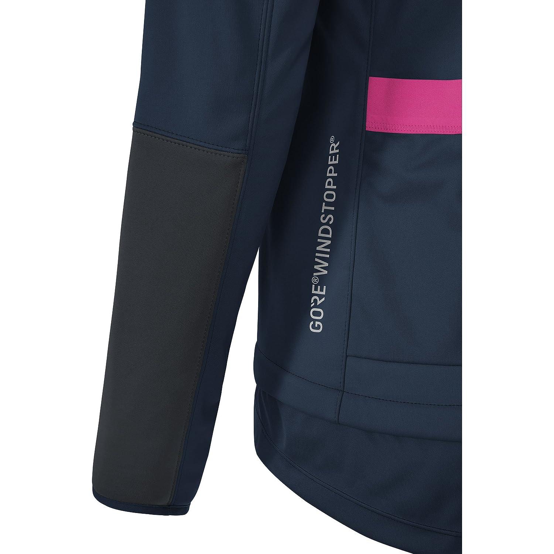 GORE BIKE WEAR Womens Cycling Jacket, GORE WINDSTOPPER, LADY Vest, Size 36, Neon Yellow, VWELML