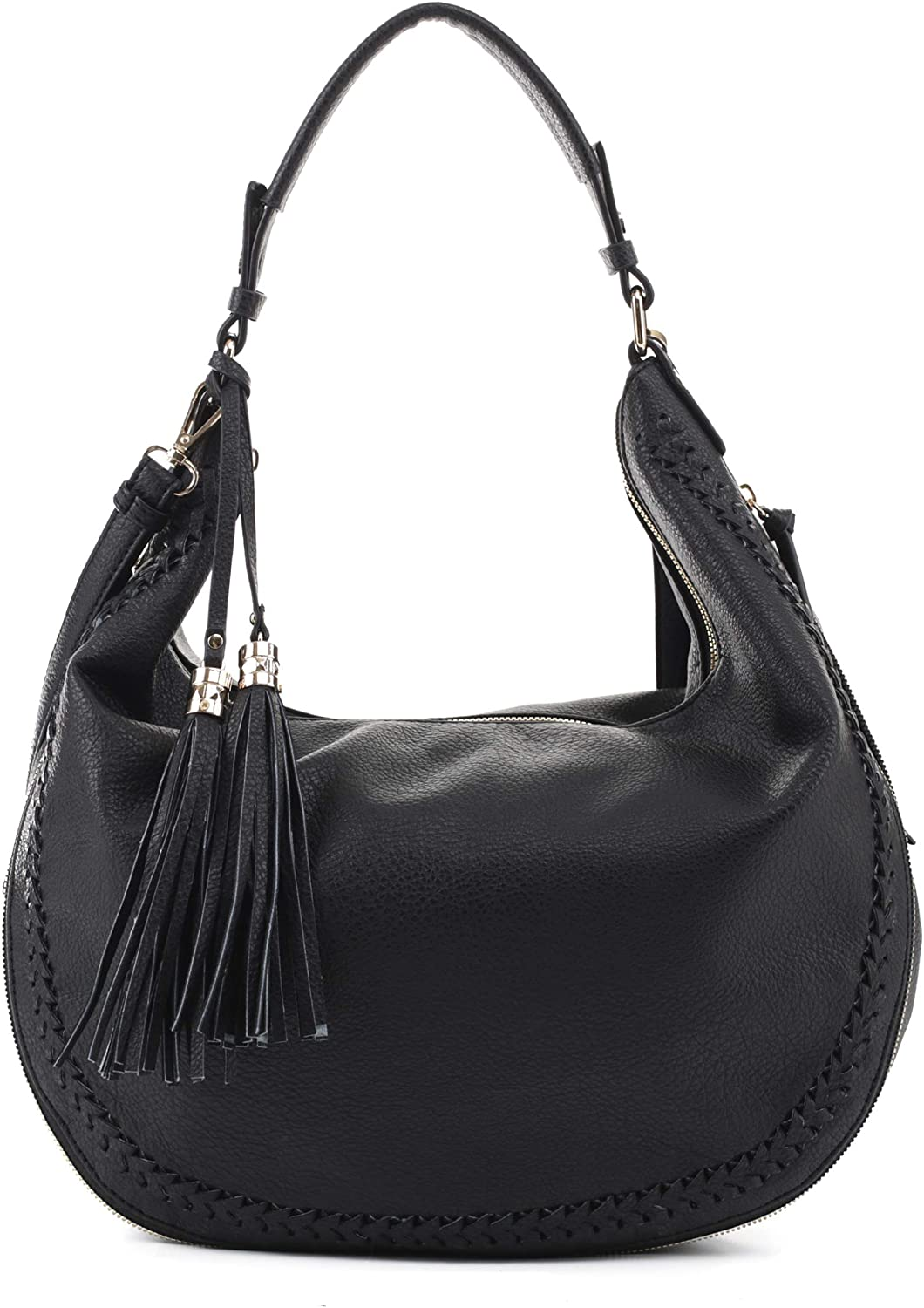 Emperia Lucille Vegan Leather Hobo Shoulder Bag Sling Purse for Woman