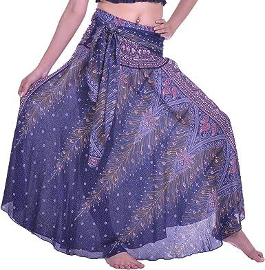Lofbaz Faldas largas para Mujer, Estilo Hippie, Bohemio, Bohemio ...