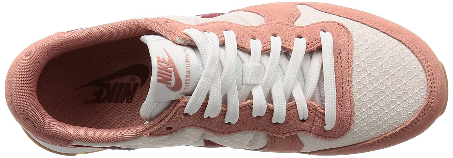 NIKE Damen Internationalist Laufschuhe, Rot Medium) (ROT Stardust/Noble ROT-silt ROT-gum Medium) Rot 953aaa
