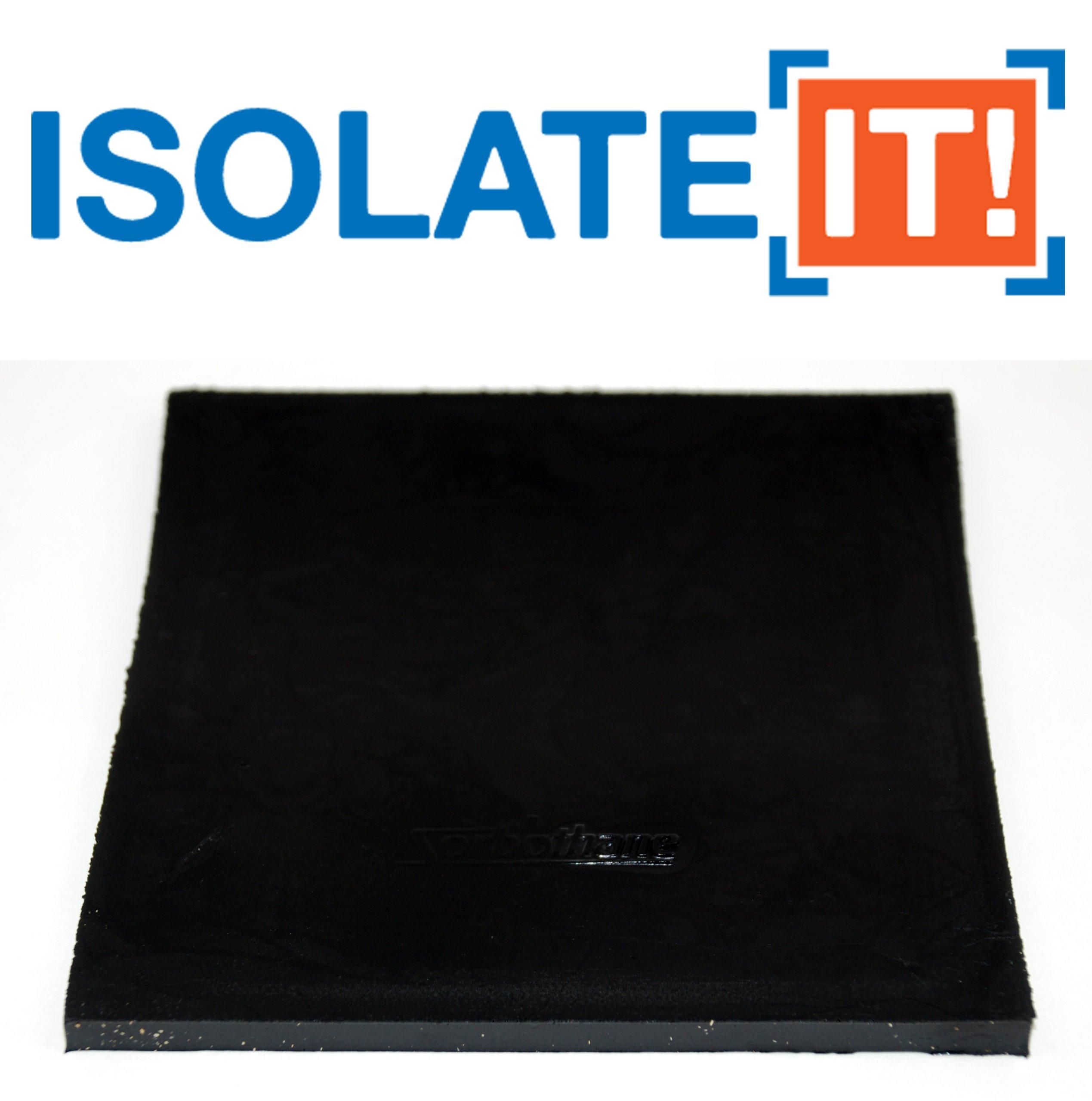 Sorbothane Vibration Damping Sheet Stock 70 Duro, 1//10 x 12 x12in