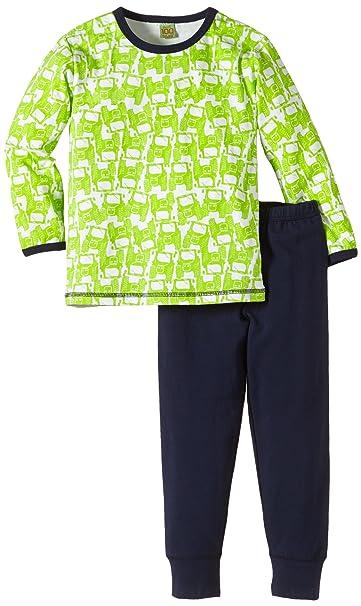 Celavi - Pijama de dos piezas de manga larga para niño, talla 2 años (