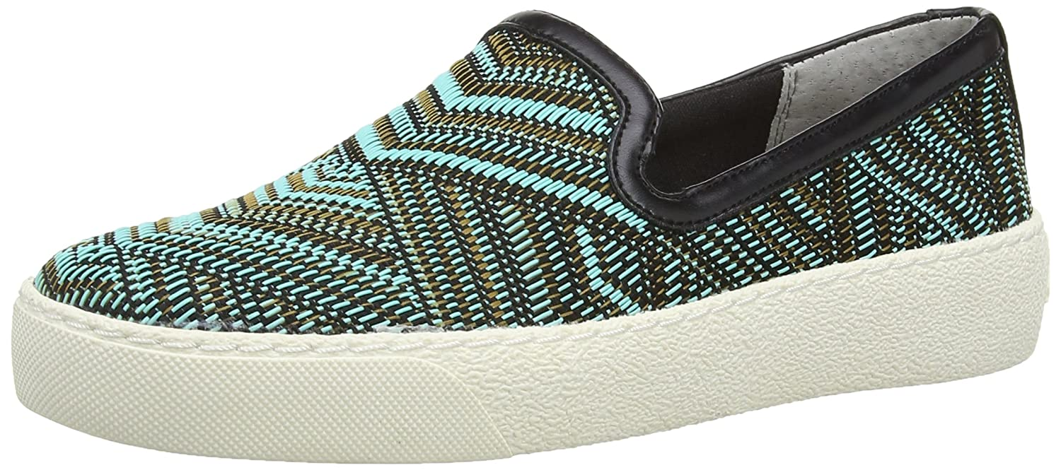 Sam Edleman Becker - Mocasines para mujer, color turquesa (Turq Hex Tribal), talla 4 UK (36 EU): Amazon.es: Zapatos y complementos