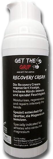GET THE GRIP Recovery - Crema para escalada, boulder, crossfit, gimnasia, 50 ml, para manos secas y agrietadas por magnesio