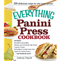 The Everything Panini Press Cookbook (Everything Series) (English Edition)
