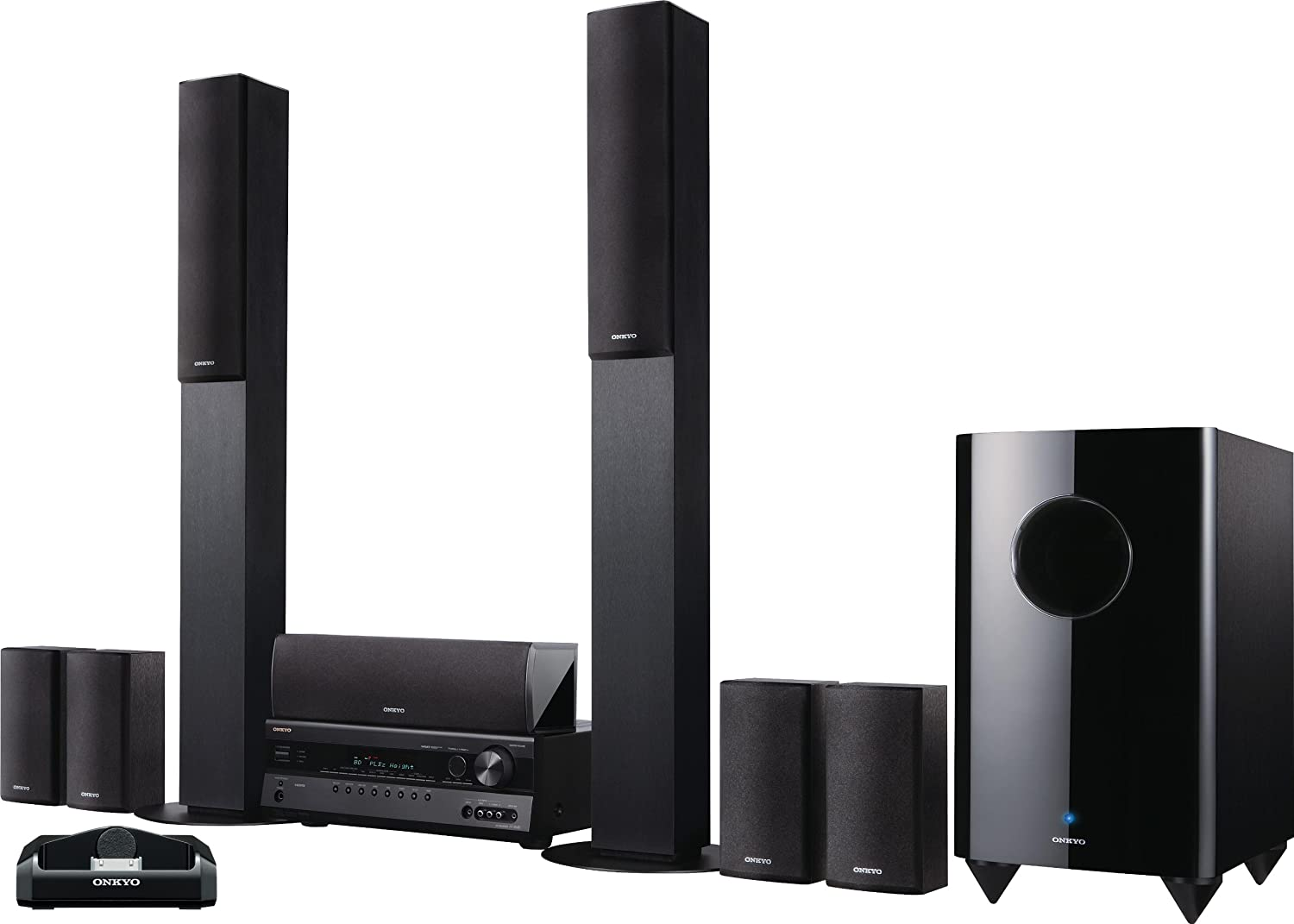 Onkyo HT-S7300 7 1-Channel Home Theater Receiver and Speaker