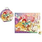 Janod - J02875 - Valisette Puzzle Princesse 54 pcs