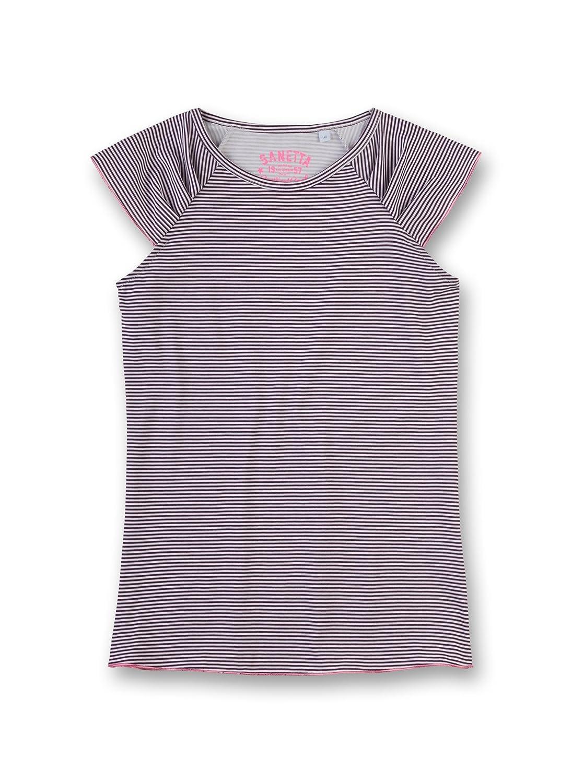 Sanetta Girl's Pyjama Top (Dark Purple 6140) 8 Years 243848