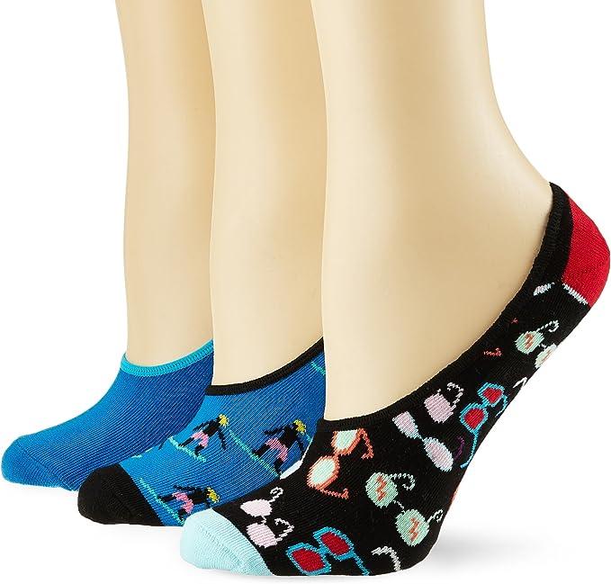 Happy Socks Limer Calcetines cortos, Azul (Navy 6000), 41-46 (Pack de 3) para Hombre: Amazon.es: Ropa y accesorios