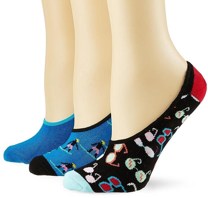 Happy Socks Limer, Calcetines Cortos para Hombre, Azul (Navy 6000), 41